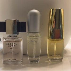3 Estée Lauder mini perfumes
